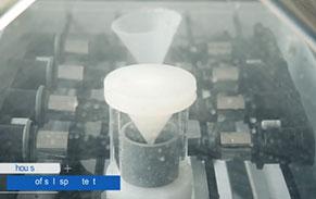 Salt spray test for material